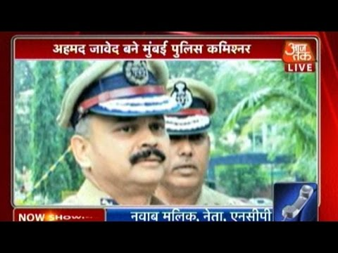 Ahmed Javed Replaces Rakesh Maria As Mumbai Police Commissioner