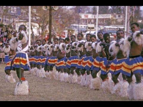 Sibhaca dancing, Swaziland 1973