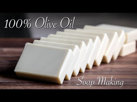 single-oil-soap-making---olive-oil-castile-soap
