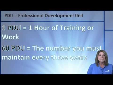 What\'s the Deal with Maintaining the PMP Certification? - YouTube