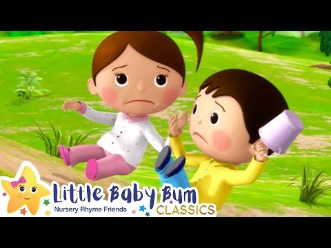 Jack and Jill + More Nursery Rhymes & Kids Songs - ABCs and 123s | Little Baby Bum