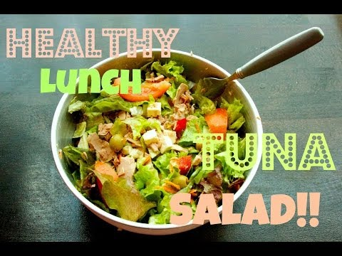 Healthy Lunch Tuna Salad