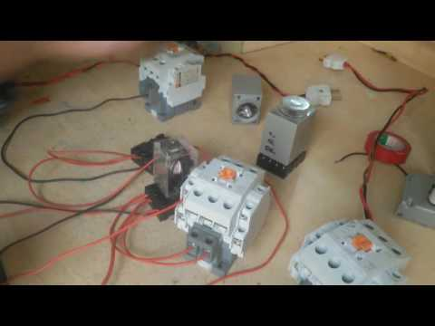 auto change over switch making | How to make auto change over switch | Auto generator on and off |