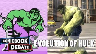 Evolution of Hulk Games in 4 Minutes (2017)