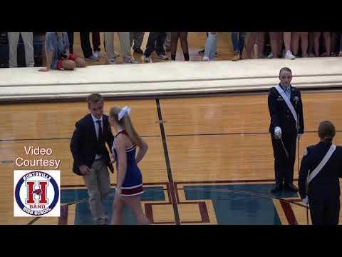 Huntsville High School Pep Rally Homecoming Court