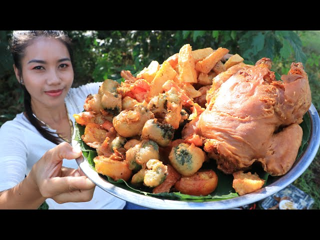 How to cook chicken and vegetable crispy recipe with chili sauce