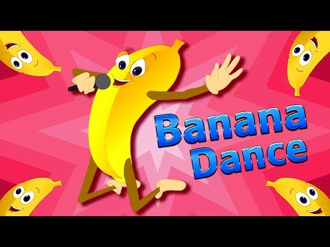 Banana Song | Sing N Dance | Orange - Banana - Fig | Fruit Rhymes by JingleToons