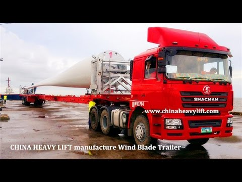 Wind Blade Trailer From CHINA HEAVY LIFT