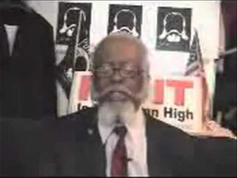 Jimmy McMillan of Rent Is Too Damn High Party Speaks on Stache Act From Secret Lair