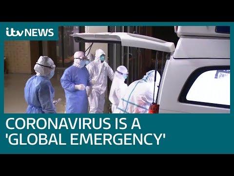 Coronavirus outbreak declared a global health emergency by WHO   ITV News