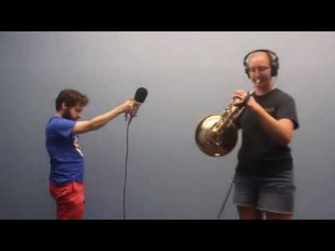 Audio Recording: French Horn (Indie Galactic Space Jam 2014)