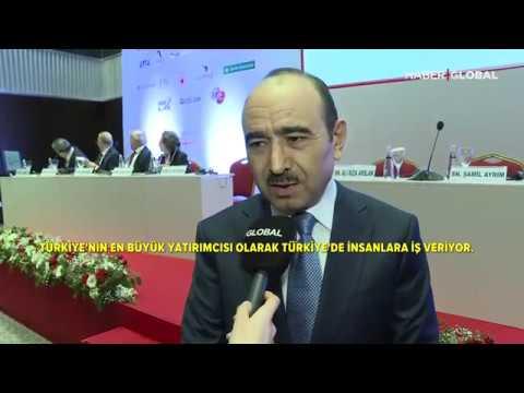 İstanbul Avrasya Zirvesinde Azerbaycan Cumhurbaşkanı Yardımcısı Ali Hasanov Haber Global'e Konuştu!