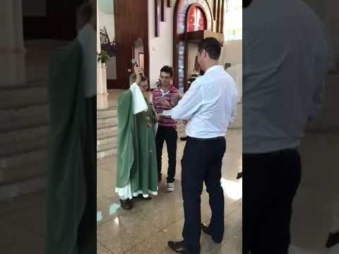 Download Funny priest fails while baptising 😆