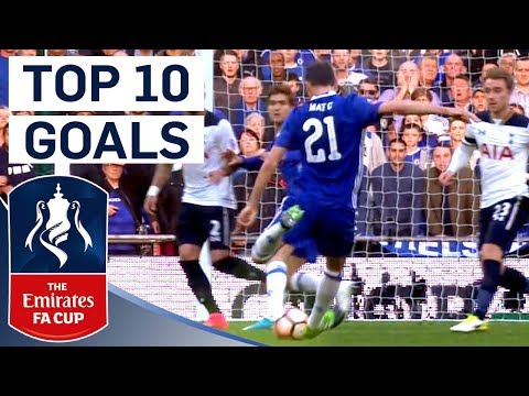 The Best Emirates FA Cup Goals of 2016/17!   From The Archive