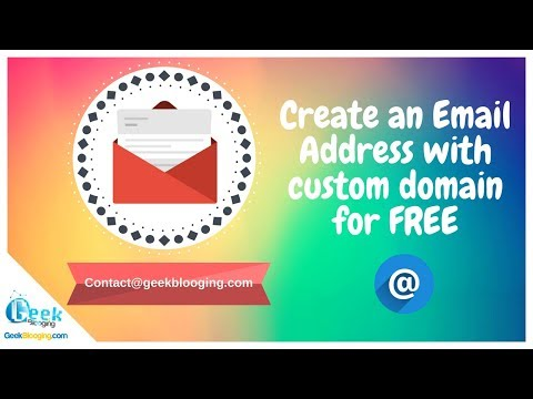 Create Your Own Custom Domain Email For Free