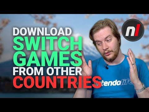 How To Download Japanese Nintendo Switch Games From The Japanese EShop Region-Free
