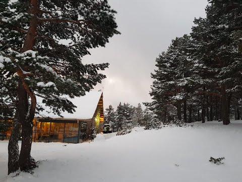El Punto de Nieve Santa Inés el primero de abrir en España en esta nueva temporada