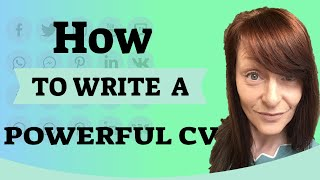 How to write a powerful CV!