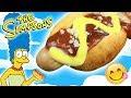 Hot Dog Dulces de LOS SIMPSONS!! (Trampantojo de Perritos Calientes )