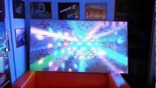 LED панель с шагом 13мм между пикселями количество точек 3040 шт.(, 2013-04-03T09:52:25.000Z)