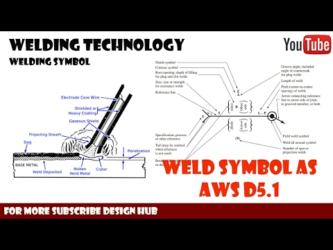 Welding Symbol as per AWS(American Welding Society ) for Mechanical Designer -part 3