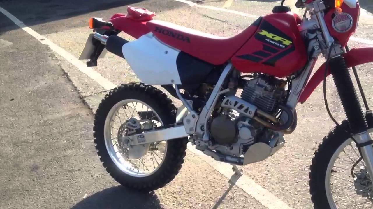 Honda XR400 for sale - YouTube