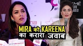 """Kareena kapoor slams Mira Rajput's """"Puppy"""" statement"""