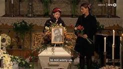 16 year-old suicide survivor's heartbreaking speech at funeral of her dad, Ari Behn
