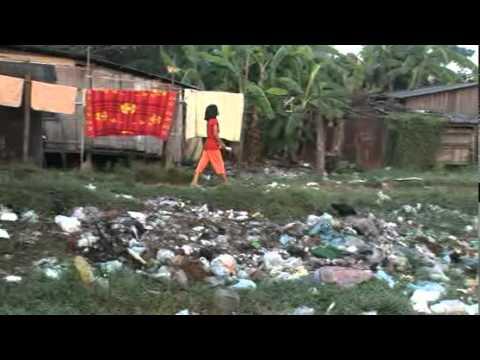 A school in a Cambodian Slum