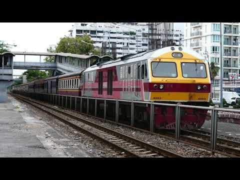 รถไฟไทย # ขบวนรถเร็วที่ 169 กรุงเทพฯ - ยะลา / HITACHI 4503