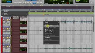 Elastic Audio to fix Drums in Pro Tools