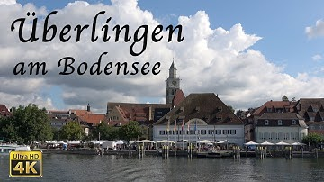 Überlingen am Bodensee in 4K