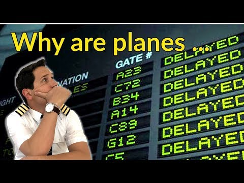 """WHY are planes DELAYED??? What are SLOTS? Explained by """"Captain"""" Joe"""