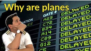 WHY are planes DELAYED??? What are SLOTS? Explained by