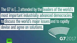G7 meeting kicks off, more than half of leaders newbies