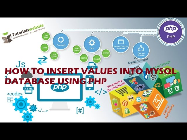 php tutorial in hindi - How to insert values into MySQL database using php