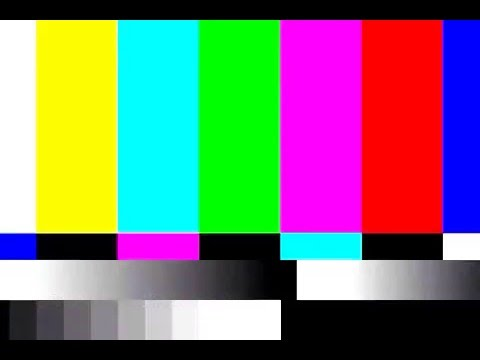 TV Static and Color Bar - YouTube