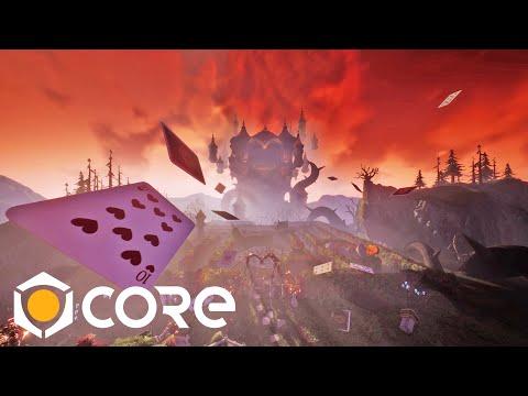 Dark 'Alice In Wonderland' Worlds Created In Core