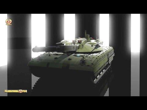 Russia's T-14 Armata Main Battle Tank Simulation [1080p]