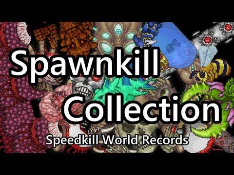 Terraria Spawnkill Collection - Speedkill World Records