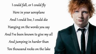 Dive - Ed Sheeran Lyrics