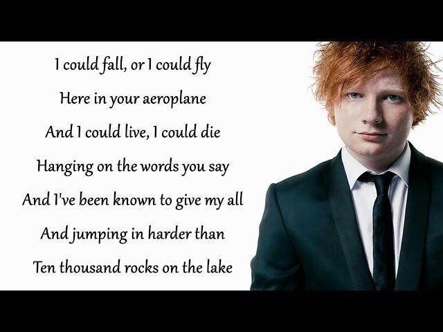 Dive - Ed Sheeran (Lyrics)