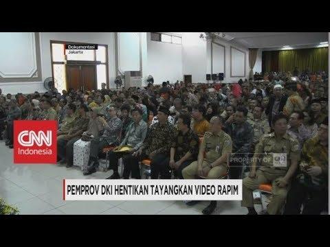 Pemprov DKI Hentikan Tayangan Video Rapim Mp3