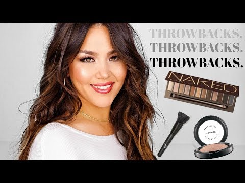 FULL FACE OF OLD MAKEUP FAVORITES | NAKED PALETTE + MORE!