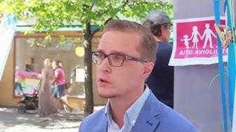 Joonas Konstig - Aito avioliitto Simonpuistikko 13.8.2015