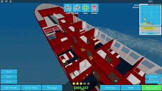 Roblox Cruise navire magnat gameplay