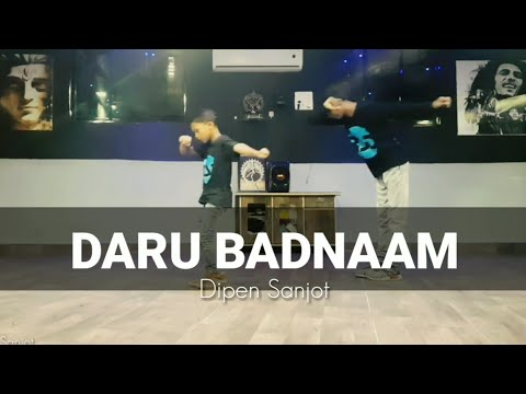 Daru Badnaam | Dance Choreography By Rahul Sir | Dipen Sanjot |