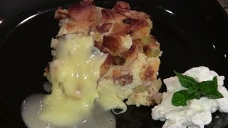 French Bread Pudding With Grand Marnier Sauce By Designing Dishes