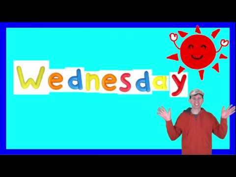 wednesday song for children youtube