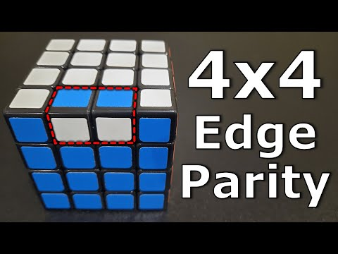 Easy 4x4 OLL Parity Guide